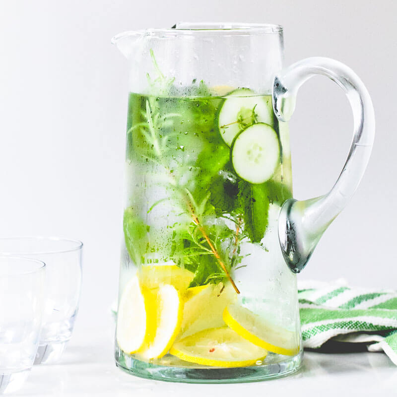 what are the benefits of cucumber and lemon water