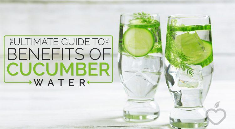 benefits of cucmber water